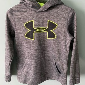 Heather gray classic style Under Armour hoodie